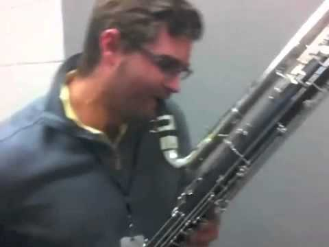 Bb CONTRA BASS CLARINET DUBSTEP (REMIX) OFFICIAL