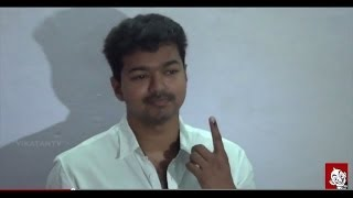Tamil celebrities casted their votes | Cinema Stars Cast their Votes