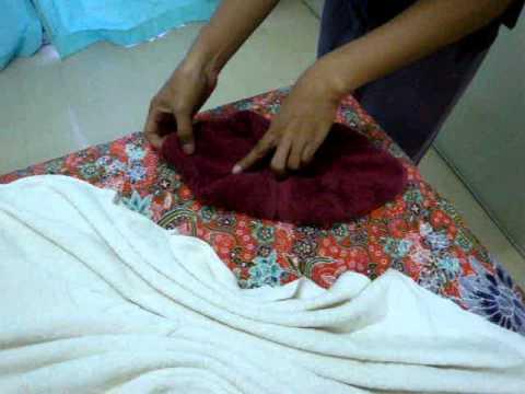Ruenmai massage school/สอนพับผ้าลายน้ำไหล
