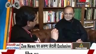 Delhi polls: Arun Jaitley talks to Zee Media - ZEENEWS