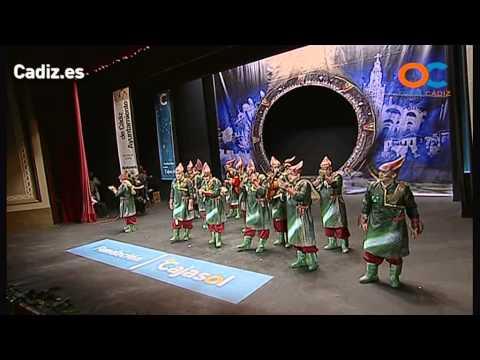 La agrupación Andalucía 3.0: Los visitantes llega al COAC 2014 en la modalidad de Comparsas. En años anteriores (2013) concursaron en el Teatro Falla como Misión imposible?, consiguiendo una clasificación en el concurso de Cuartos de final.