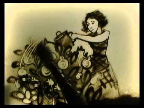 А. Яркова - песочная анимация - 150 лет Пыёлдинской школе