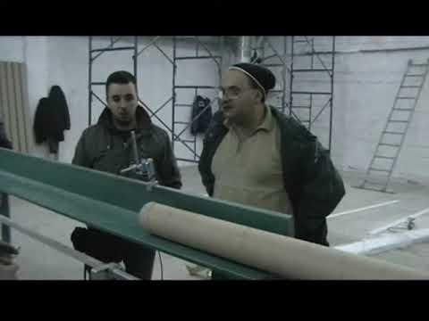 Masina za spiralno motanje papirnih cevi - hilzni, Core making machine - paper tube machine