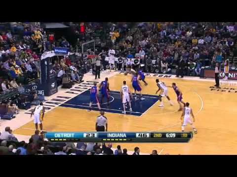 Detroit Pistons vs Indiana Pacers - February 22, 2013