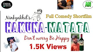 Hakuna-Matata (Don't worry Be Happy ) telugu full comedy Shortfilm - YOUTUBE