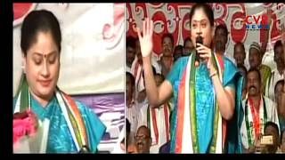 Vijayashanthi Sensational Comments on Congress & TRS Party in Mahila Sadassu | CVR News - CVRNEWSOFFICIAL