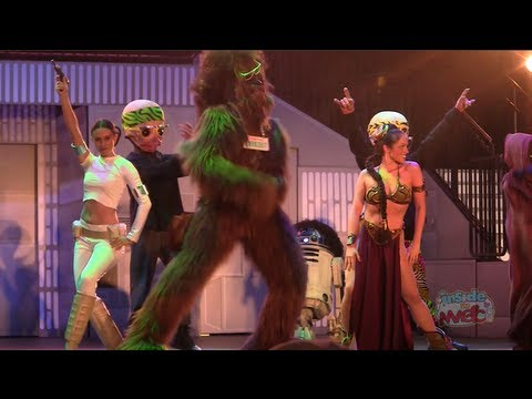 Chewbacca, Slave Leia & more dance to LMFAO in Dance-Off with the Star Wars Stars 2012