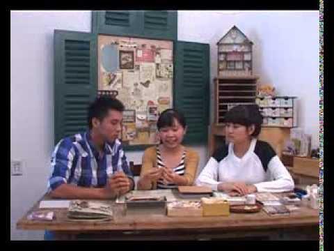 Hoa tay HTV4 - Không gian ký ức : Scrapbook