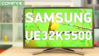 Samsung UE32K5500 - телевизор с качественным экраном и smart tv - Видео демонстрация