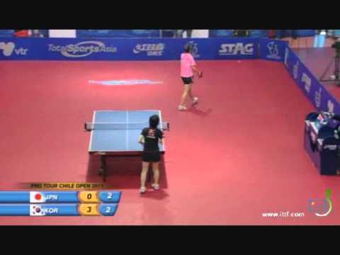 2011 Chile Open: Ishikawa Kasumi-Yoon Sun Ae