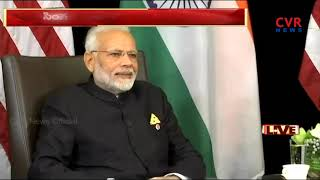 PM Modi holds talks with Singapore's Prime Minister Lee Hsien Loong | CVR News - CVRNEWSOFFICIAL