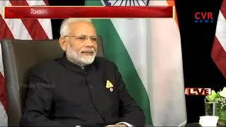 PM Modi holds talks with Singapore's Prime Minister Lee Hsien Loong | CVR News - CVRNEWSOFFICIAL