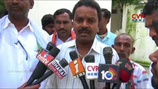 Farmers Protest Demanding for Sriram Sagar Project Water Release | Nizamabad | CVR News - CVRNEWSOFFICIAL