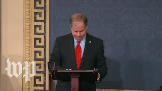 Jones gets emotional during first speech on Senate floor - WASHINGTONPOST