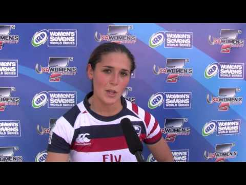 USA vs. Russia  - Kimber Rozier's post game reaction at Houston Sevens