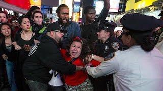 احتجاجات سلمية في مدينة بالتيمور الأمريكية