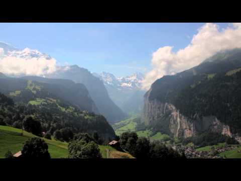 A Grand Tour of Switzlerland, by train
