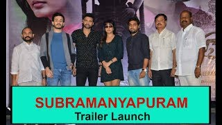 Subramaniapuram Movie Trailer Launch By  Akhil | Sumanth | Eesha Rebba - RAJSHRITELUGU