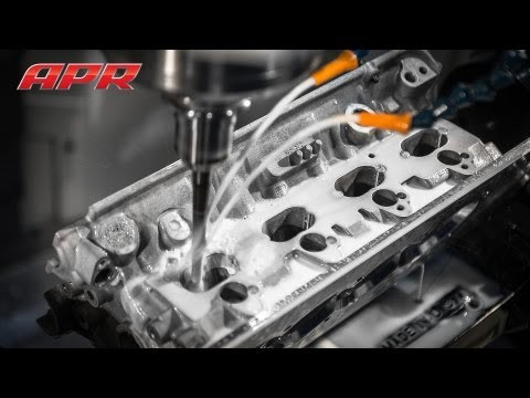 APR Stage III+ 2.0T FSI Cylinder Head Porting