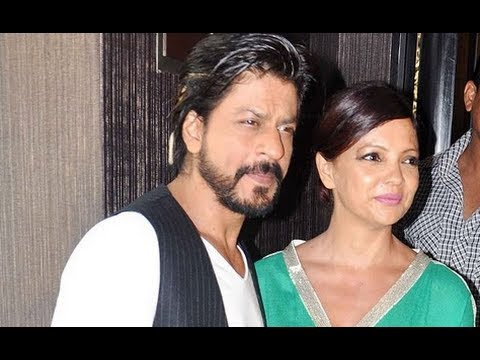 Shahrukh Khan Unveils Deanne Panday's Book Shut Up and Train !
