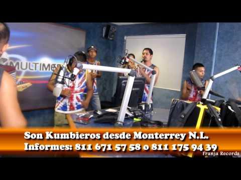 El Corpiño Colorado - Son Kumbieros en Multimedios TV