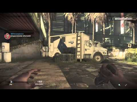 Call of Duty Ghosts Lag, y 1o! Infectado #34 Strikezone PS4 HD