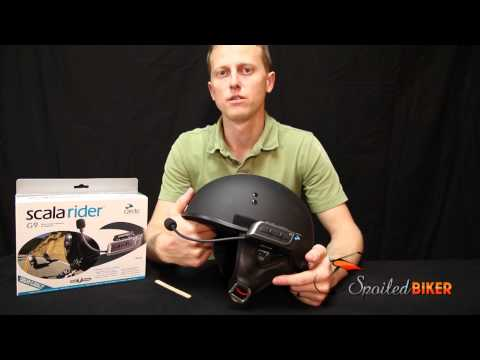 Cardo Scala Rider G9 on Half Helmet: How to Install the Scala G9 On a Turtle Shell