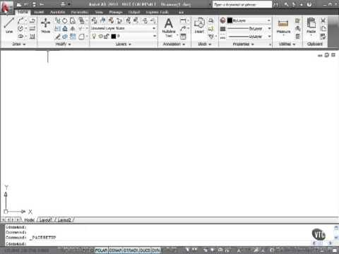Curso Autocad 2013 2012 2011.Introduccion.01. New in AutoCAD 2010 pt  1