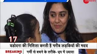 Meet Nishita Rajput who crowdsourced Rs1 crore to educate underprivileged girls in Vadodara - ZEENEWS