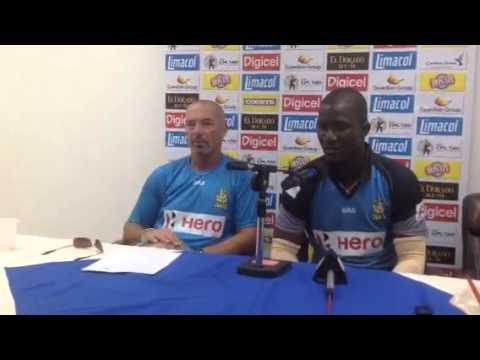 Darren Sammy #1: post match press conference