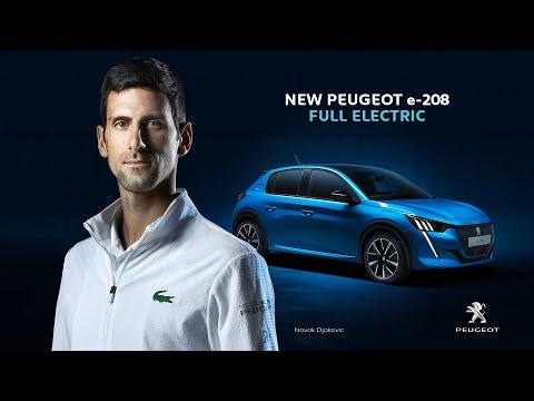 Autoperiskop.cz  – Výjimečný pohled na auta - Spuštění nové mezinárodní kampaně Peugeot e-208 sNovakem Djokovičem