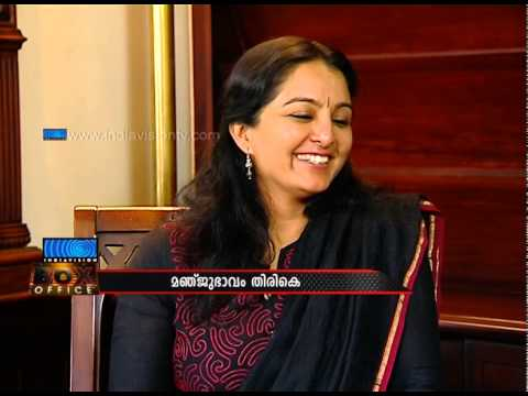 Manju Warrier speaks on future plans & hopes in an exclusive chat with Indiavision