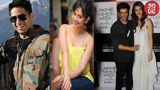 Sidharth's 'Aiyaary' To Be Shot At Multiple Locations   Kriti Joins Manish As Jury At LFW