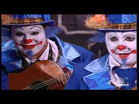 Sesión de Cuartos de final, la agrupación El circo de los payasos actúa hoy en la modalidad de Comparsas.
