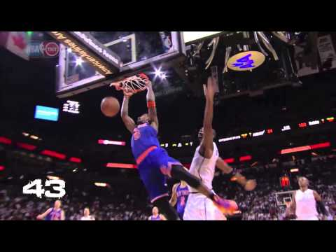 New York Knicks Top 100 Plays of 2012-2013: 49-40