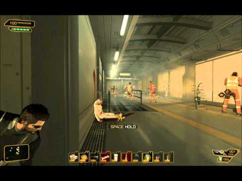 Deus Ex: Human Revolution - Foxiest / Pacifist Playthrough Part 18 (Panchaea-1)