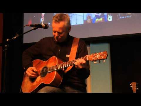 """Tommy Emmanuel Workshop Guitar Academy Amsterdam 2012-01-21_04 Warming up (3) """"Hope Street"""""""
