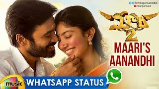 Maari's Aanandhi Song WhatsApp Status Video | Dhanush | Sai Pallavi | Maari 2 Movie | Mango Music - MANGOMUSIC