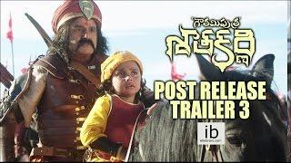 Gautamiputra Satakarni post release trailer 3 - idlebrain.com - IDLEBRAINLIVE