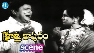 Kotta Kapuram Movie Scenes - Krishna Marries Bharati || Chandra Mohan || Rajanala - IDREAMMOVIES