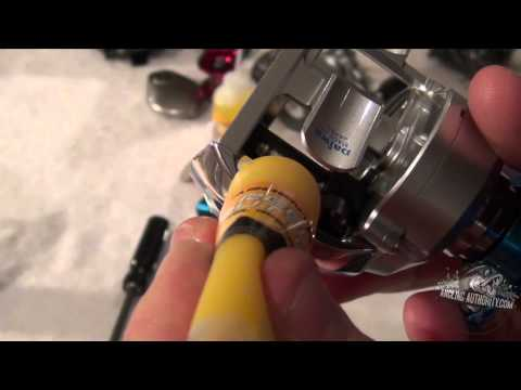 Daiwa Zillion Reel Cleaning Instructions