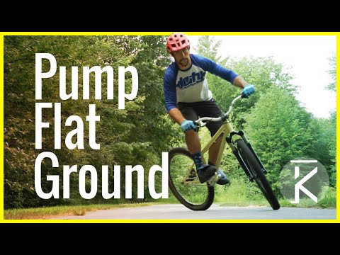 Generating speed without pedaling - Pumping flat ground | MTB | Skills with Phil
