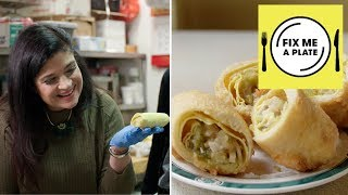 The Original Egg Roll at Nom Wah with Alex Guarnaschelli | Food Network - FOODNETWORKTV
