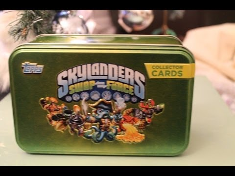 Skylanders Swap Force Rare Topps Collectors Cards-Tips and Advice