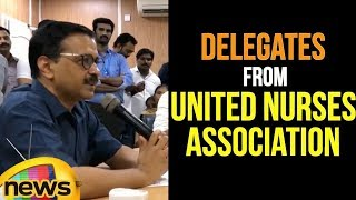 Delhi CM Arvind Kejriwal met Addressed the delegates from United Nurses Association | Mango News - MANGONEWS