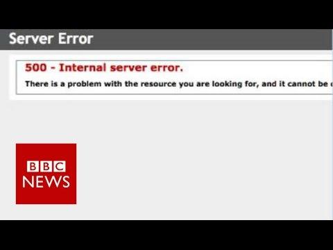 Canadian immigration website crashes - BBC News