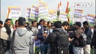 'डूटा' के शिक्षकों ने किया प्रदर्शन - NDTVINDIA