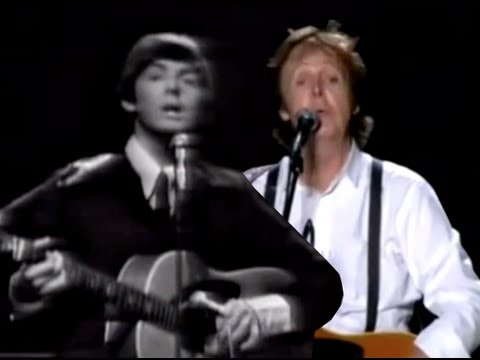 Paul McCartney Sings Yesterday In 1965 And 2011