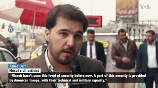 Mosul Activists: US Troops Prevent Return of IS - VOAVIDEO