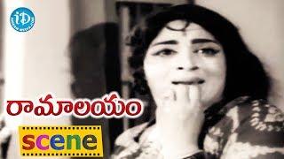 Ramalayam Movie Scenes - Jamuna Goes Missing || Jaggaiah || Shobhan Babu || Raja Babu - IDREAMMOVIES